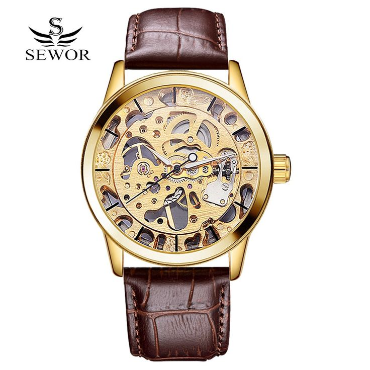 $21.65 (Buy here: https://alitems.com/g/1e8d114494ebda23ff8b16525dc3e8/?i=5&ulp=https%3A%2F%2Fwww.aliexpress.com%2Fitem%2FSEWOR-Fashion-Popular-Brand-New-Men-Luxury-Hand-Wind-Skeleton-Watch-Mechanical-Wrist-Watches-For-Men%2F32669728773.html ) SEWOR Fashion Popular Brand New Men Luxury Hand Wind Skeleton Watch Mechanical Wrist Watches For Men Dress Male Gold Watch Clock for just $21.65