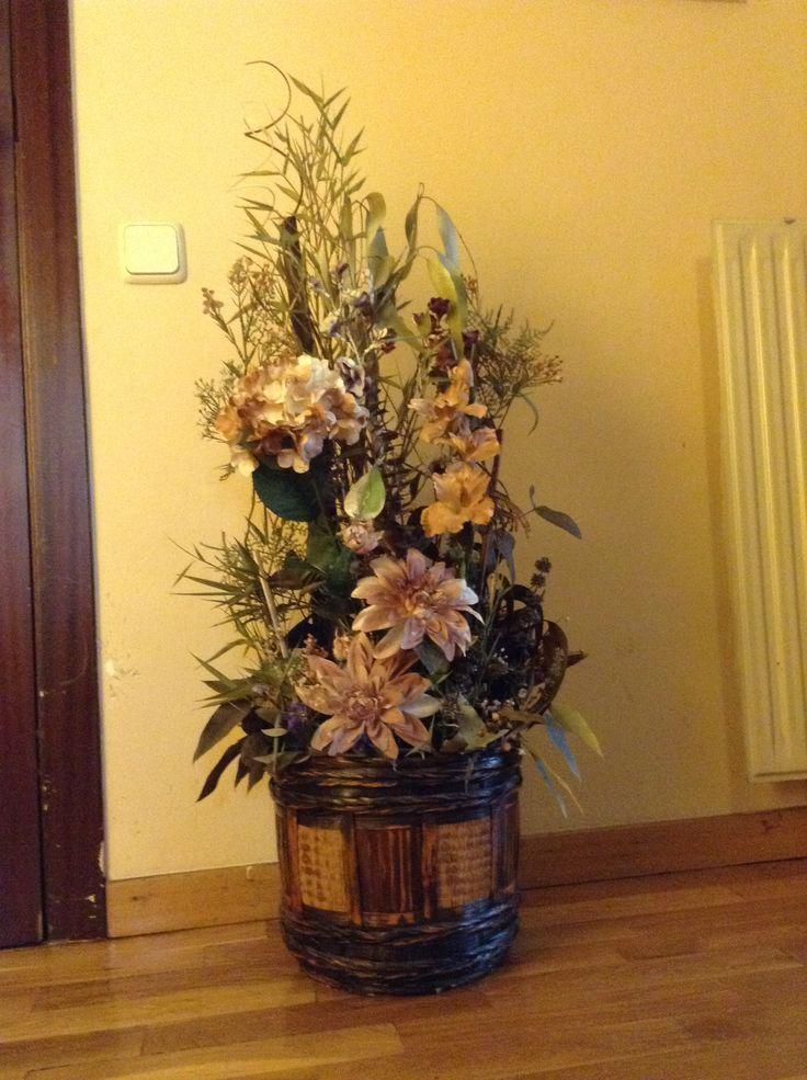 Mejores 7 im genes de centros de flores secas para decoraci n en pinterest flores secas - Plantas secas decoracion ...