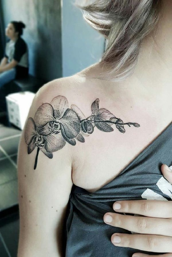 Sexy Should Orchid Tattoo. Wear it on your date night and make it perfect.