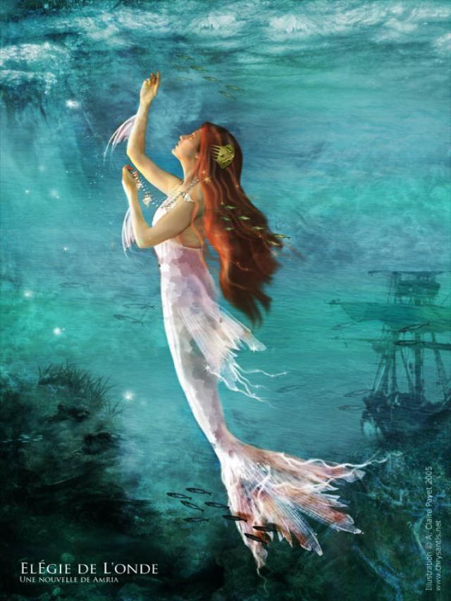 Anne Claire Payet - Mermaid Illustration