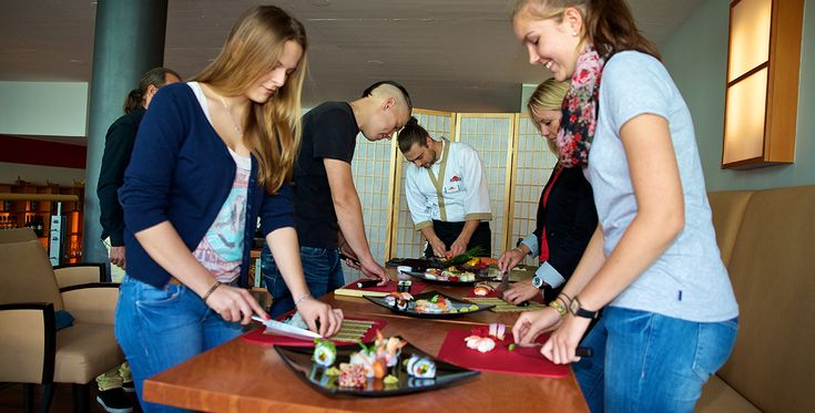 Sushi Kochkurs in Dresden-Seevorstadt #Kochkurse #Kochschule #erlebniskochen