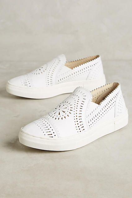 Anthropologie Seychelles So Nice Leather Sneakers