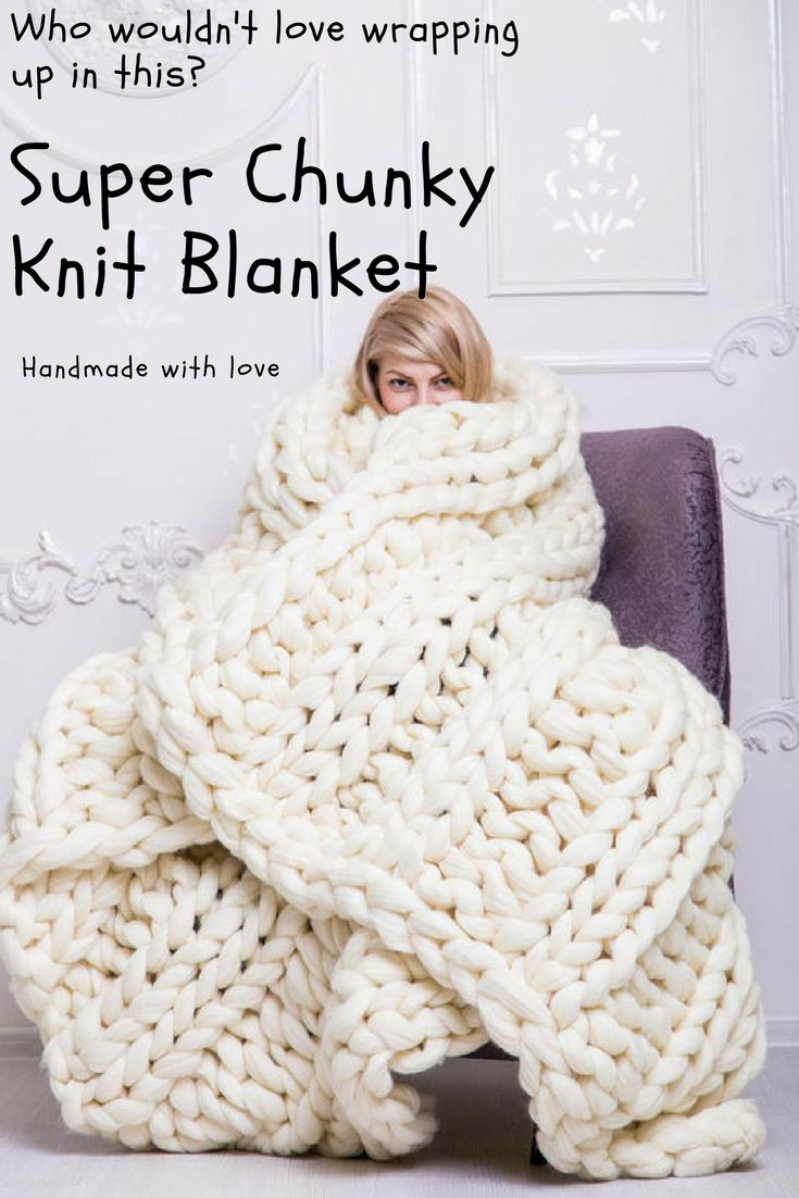 This is a merino wool knit blanket that is super soft and oh so cozy! Handmade item, custom colors available. #etsy#blanket#handmade#ad