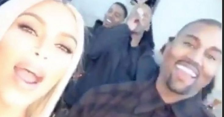 Things quickly got awkward as Kim shared her NYE countdown with Kanye on Instagram