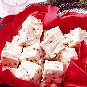 White Chocolate FudgeHealth Desserts, Taste Of Home, White Chocolates, Dessert Healthy, Fudge Recipes, White Chocolate Fudge, Chocolates Fudge, Healthy Desserts, Texas Recipe