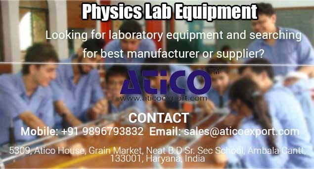 Best school and colleges are recognized by their quality of facility. All non medical students want that their school should have best physics lab equipments and many more equipments in their lab. So school and colleges should use best Physics Laboratory Instruments for their labs for getting good response from the students.
