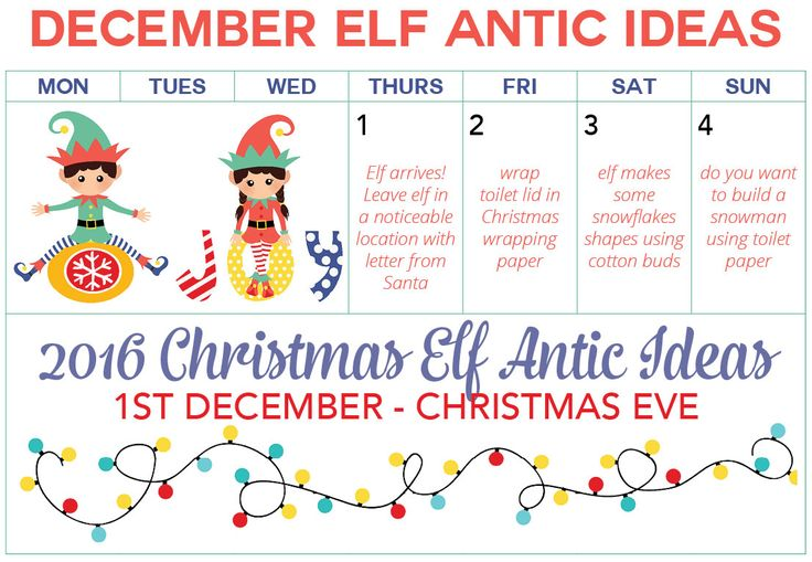 Ultimate Guide To Elf On The Shelf 2016 Elf Planner