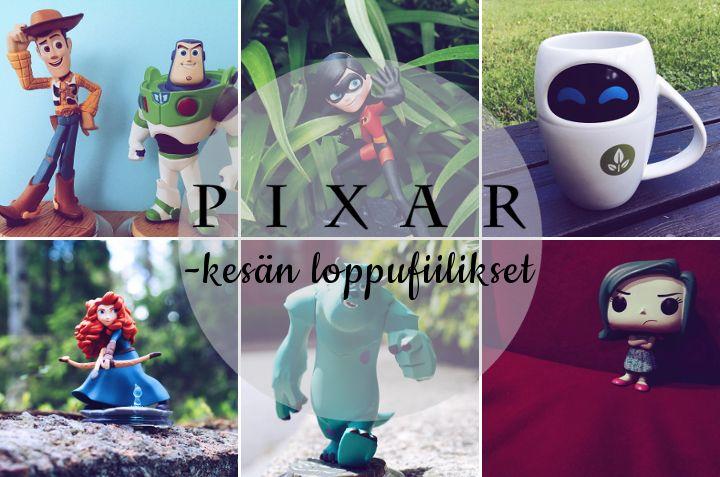 Pixar-kesän loppufiilikset - Disnerd dreams