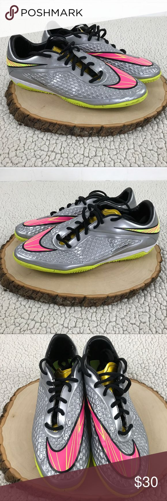 Hypervenom Phelon Premium IC Indoor Soccer Cleats These cleats are previously worn, and have lots of life left in them. There is some wear, most notably some minor creasing. Please see photos for detail. Nike Shoes Athletic Shoes