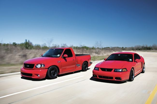 2004 #Ford Mustang Cobra and F-150 Lightning - SVT For Him And Her :-D