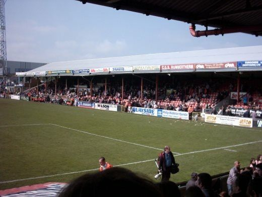 Grimsby Town FC Grimsby North Lincolnshire England