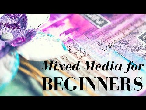 Mixed Media for beginners: how to use Gelatos - YouTube