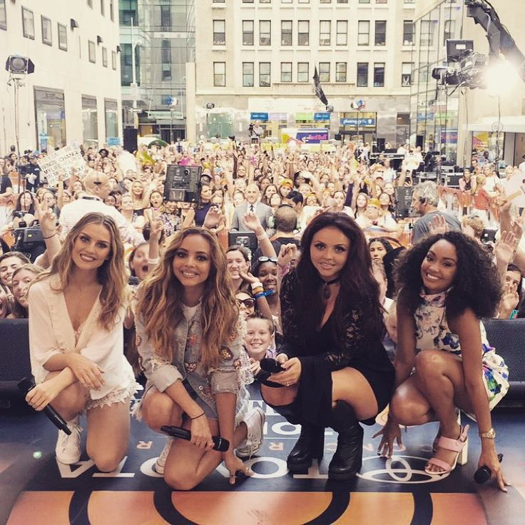 Mixers! So much fun on the @todayshow! You're amazing!! #LittleMixToday xxLittleMix Xx