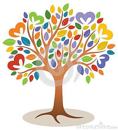 Logo d arbre de coeur                                                                                                                                                                                 Plus