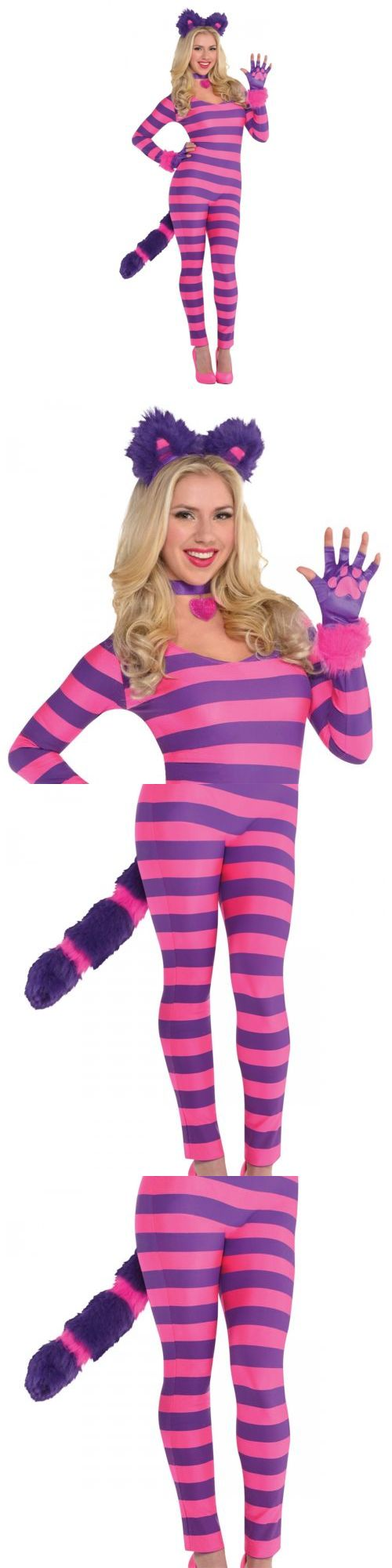 Halloween Costumes Women: Cheshire Cat Costume Adult Alice In Wonderland Halloween Fancy Dress -> BUY IT NOW ONLY: $49.89 on eBay!