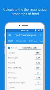 Las propiedades termofísicas de los alimentos son parámetros requeridas para calcular la transferencia de calor para procesos de enfriamiento y calentamiento de alimentos. Tenemos cuatro propiedades que son: Conductividad térmica, Calor especifico, Densidad y Difusividad térmica.
