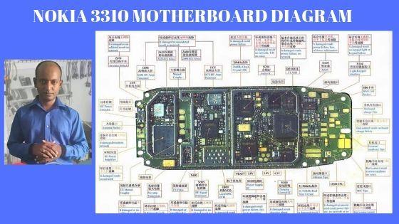 #Download #Nokia 3310 motherboard #diagram #schematic in