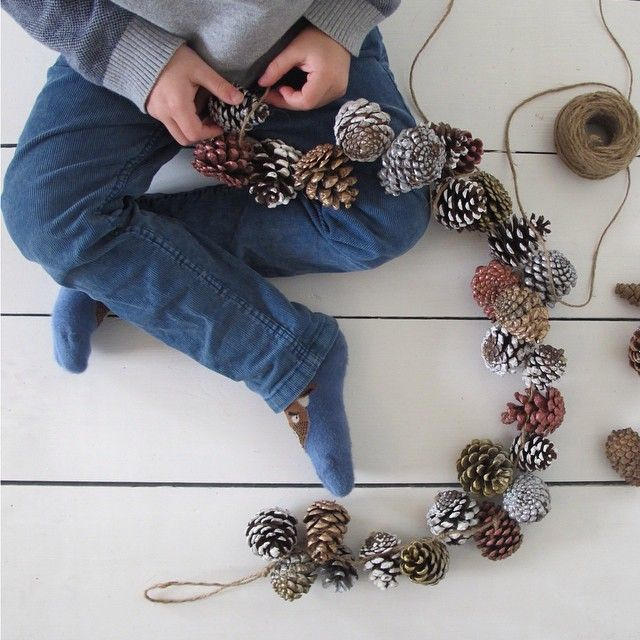 Making use of the mountains of fir cones lying around our house. Details in my Little Brother column at Mrfoxmagazine.com (please bear with me whilst I upload some old pics to this account)