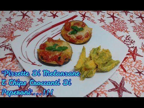 """""""Pizzette 🍕 Di Melanzane🍆E Chips Croccanti Di Peperoni""""...!!! #pizzette #pizzettedimelanzane #pizzettediverdure #antipasti #chips #chipsdiverdure #chipsdipeperoni #verdurecroccanti #verdurecroccantialforno #fintepizzette #fintechips"""