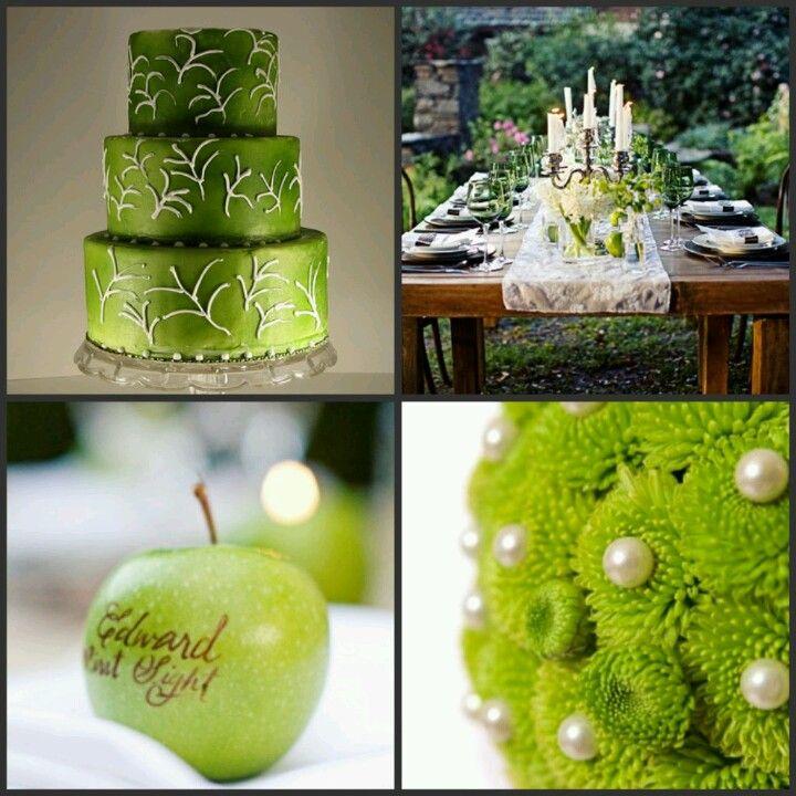 17 best ideas about green apple wedding on pinterest for Apple decoration ideas