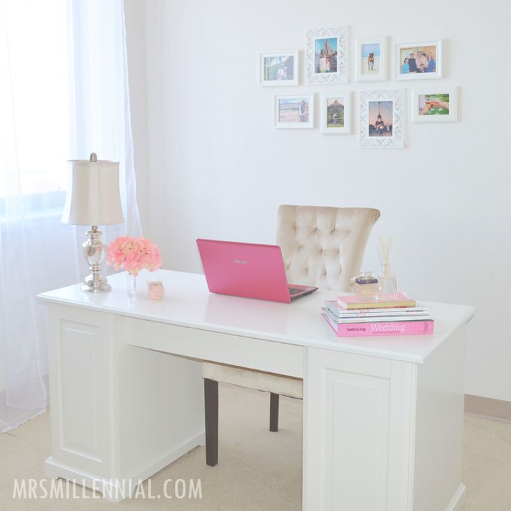21 Feminine Home Office Designs Decorating Ideas: Best 25+ Feminine Home Offices Ideas On Pinterest