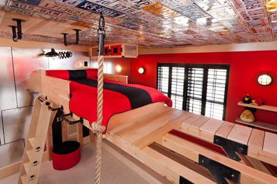 """Cool """"secret agent"""" Boys room Designed by Kidtropolis"""