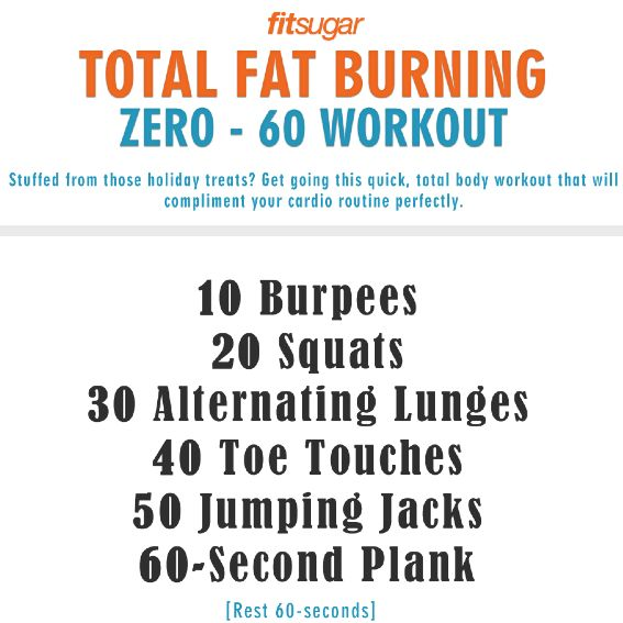Zero to 60 Fat-Burning Workout