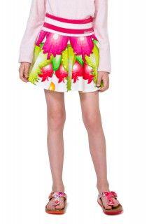 Desigual barevná dívčí sukně Tanganament - 699 Kč