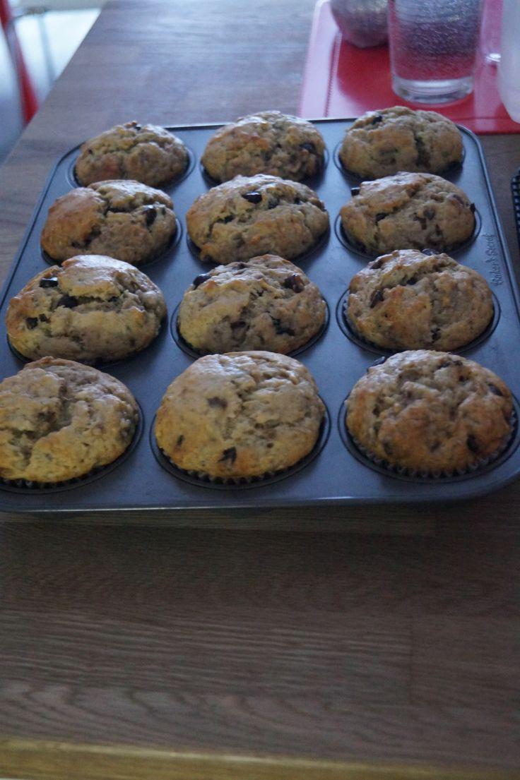 Muffins aux bananes et au chocolat Coup de pouce, Hors série, Cuisine express 2006