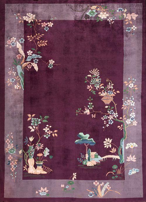 """#Античный #китайский #ArtDeco #ковры красивы своей красотой, сплошные поля и простой, современный дизайн#.  #22046 Размер: 8' 0"""" x 10' 10"""" info@rahmanan.com"""