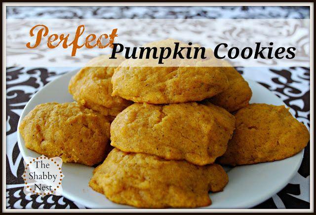 Perfect Pumpkin Cookies!