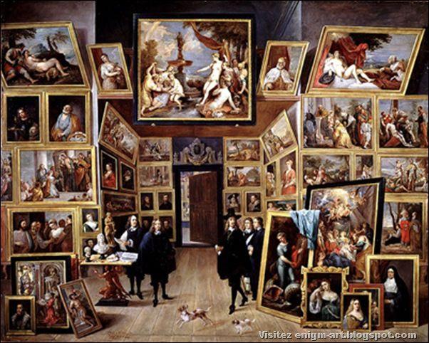David Teniers, Galerie de l'Archiduc Léopold Wilhelm, 1647