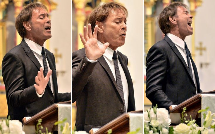 Thousands of mourners line route of funeral cortege to say 'ta-ra' to queen of   showbiz in Liverpool as Sir Cliff Richard sings emotional tribute - latest