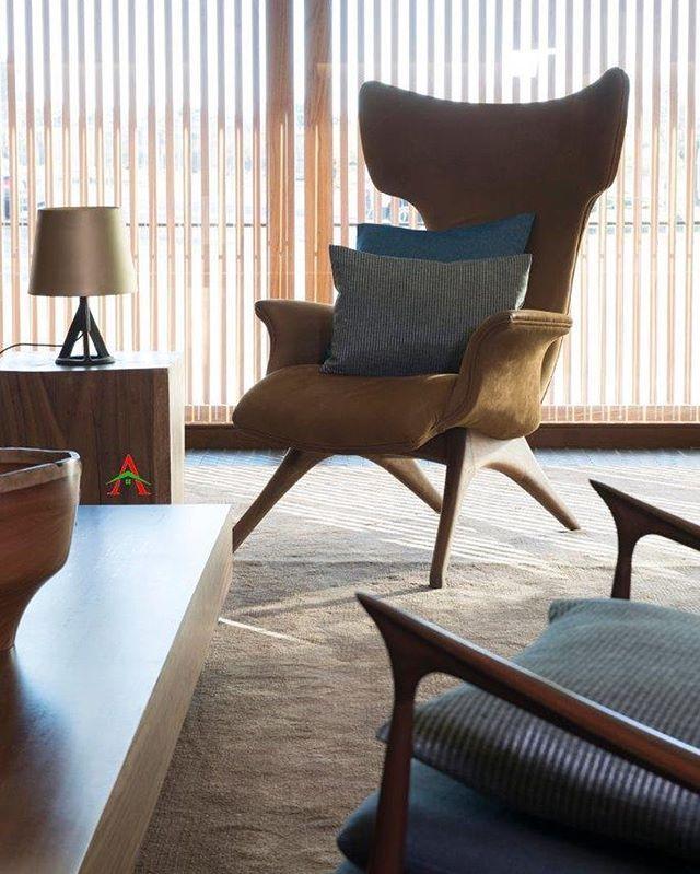 Ginger Fabric Curtain Sofa Upholstery Cushion Drapery Interior Kainsofa Ottoman Puff Jakartainterior Interiord Desain Interior Interior Sofa