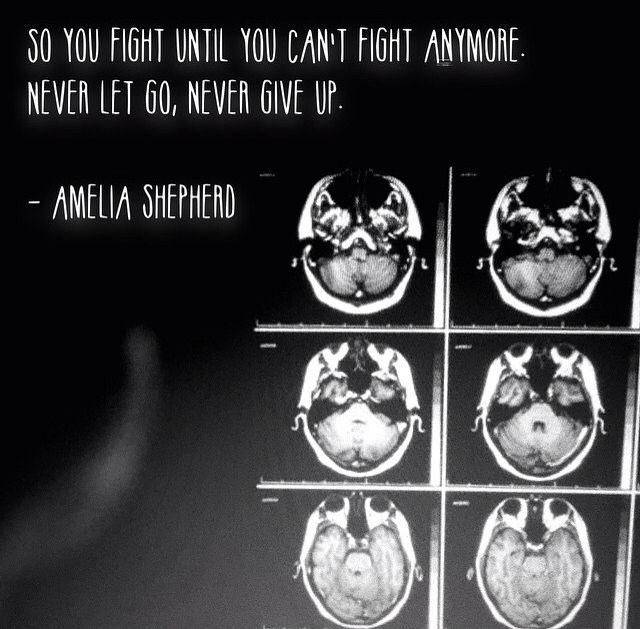 """Amelia Shepherd -- Grey's Anatomy-- La zona del cervello più importante è quella che ci fa sperare, sognare, immaginare. Una parte, singola, quasi non misurabile, è ciò che rende voi… VOI. E me… ME. Ed ognuno, SE STESSO. Tecnicamente è chiamata """"fornice"""". …Ma io la chiamo """"La scatola dei sogni""""."""