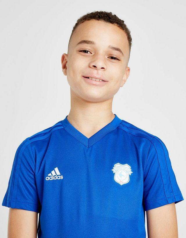 40ff56ed72af4 adidas camiseta 1.ª equipación Cardiff City FC 2018 19 Condivo júnior