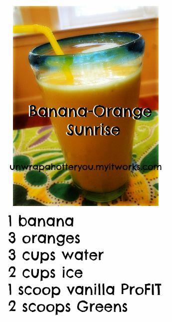 It WORKS Vanilla ProFIT Recipe.    Add me on Facebook!     http://facebook.com/unwrapahotteryou