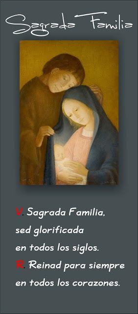 TARJETAS Y ORACIONES CATOLICAS: Sagrada Familia