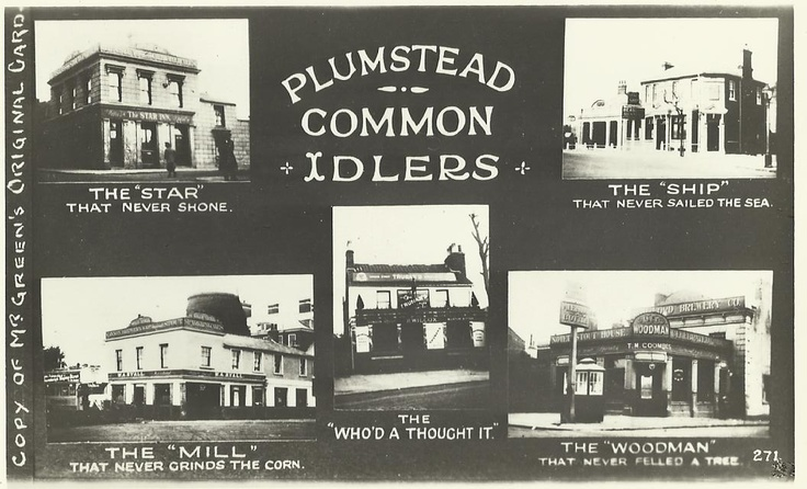 Plumstead Common Pubs