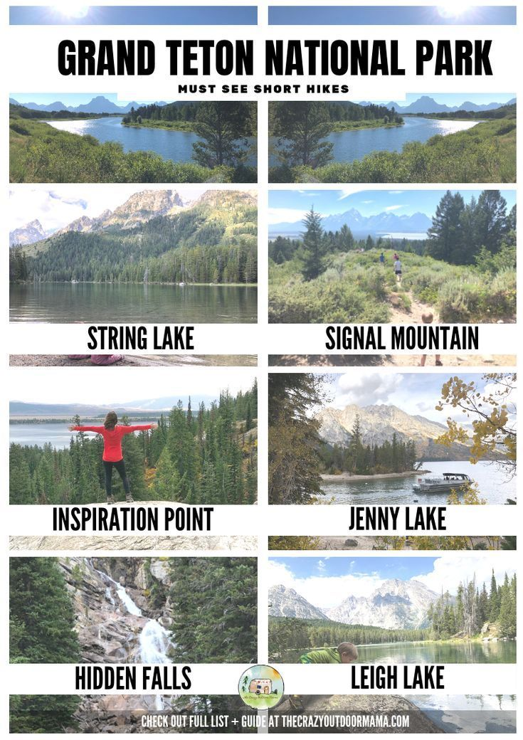 6 Best Hikes in Grand Teton National Park ANYONE C…