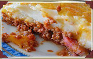 Pastel De Carne Picada Y Puré De Patata