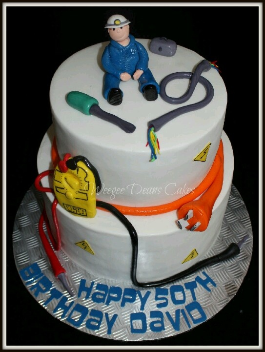 48 Best Images About Electrician Cakes On Pinterest