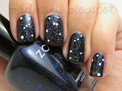 Constellation Nails by MaD Manis: Fairies Dust, Polka Dots, Awesome Nails, Actually One Not, Constellations Nails, Random Dots Mak, Mad Mani, Pretty Nails Art, Dots Constellations