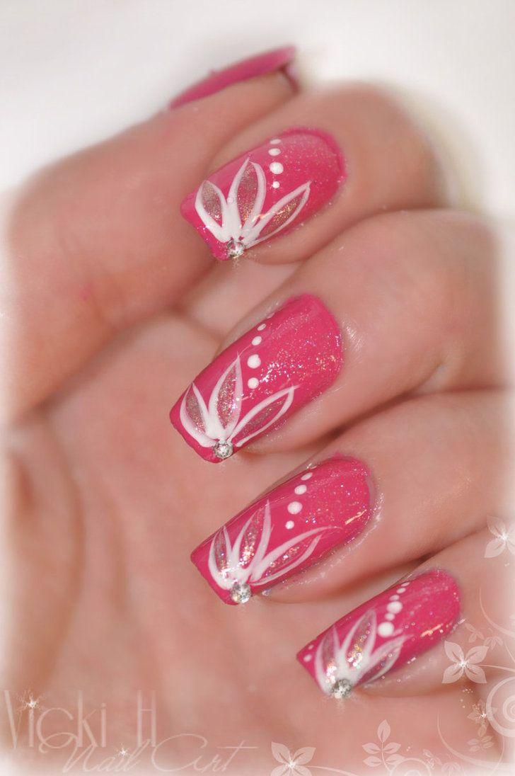 Nail Art 23 by ~VickiH on deviantART