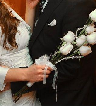 Ramo...rosas, caireles y cintas