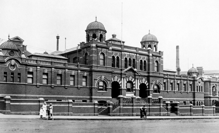 1910's City Baths, Swansston St