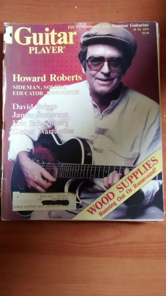 Guitar Player Mag good condition June 1979