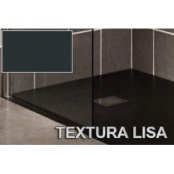 Plato de ducha resina 80 x 160 Liso Grafito-Antracita