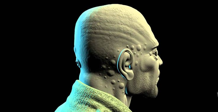 CYBORG HEAD 2