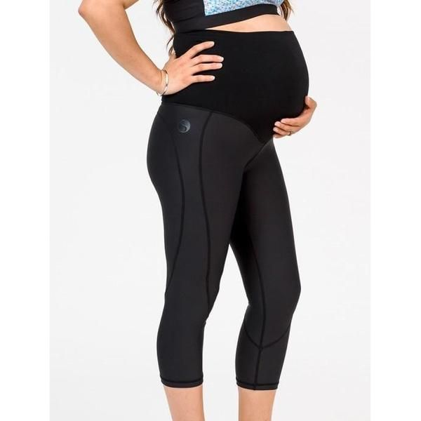 Pregnancy & Post-Natal Maternity Leggings. High waist for extra support. Light-Medium compression. Can be worn while pregnant. Great for post-partum support. Non-see-through.